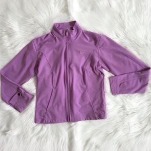 Nike Lavender Dri Fit Active Jacket Sz S
